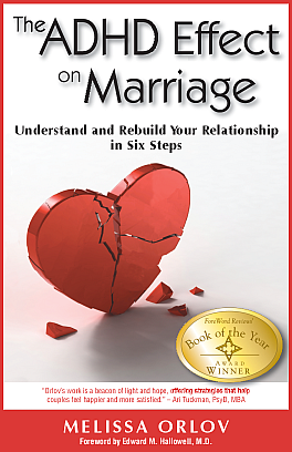 ADHD Effect on Marriage Book Cover